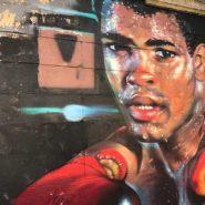 Un Muro del Bronx dipinto a spary dalle crew Hip Hop di New York