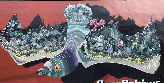 Bushwick Street Art + Williamsburg , Brooklyn.