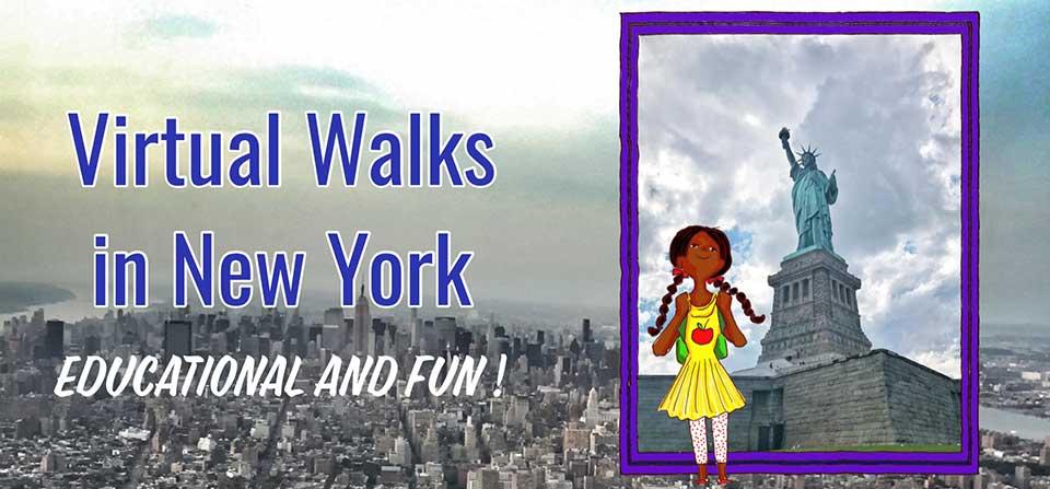 Virtual Walks in New York