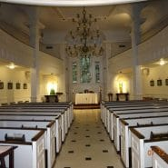 Inside of Our Lady of the Rosary Church