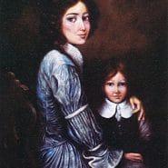 Elizabeth Ann Seton and child
