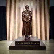 The Statue of RBG in Downtown Brooklyn