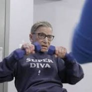 RBG working out