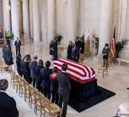 Memorial Service at U.S. Capitol for Justice Ruth Bader Ginsburg