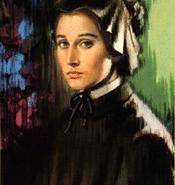 Portrait of young Elizabeth Ann Bayley